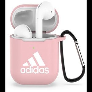 Pink Adidas AirPods case Brand New